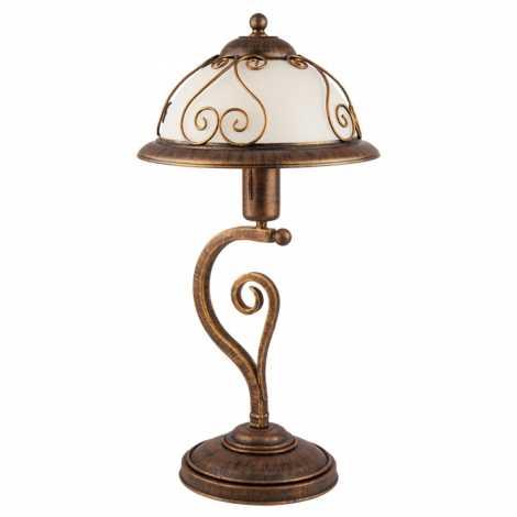 VERDA VE/B asztali lámpa 1xE27/60W patinás