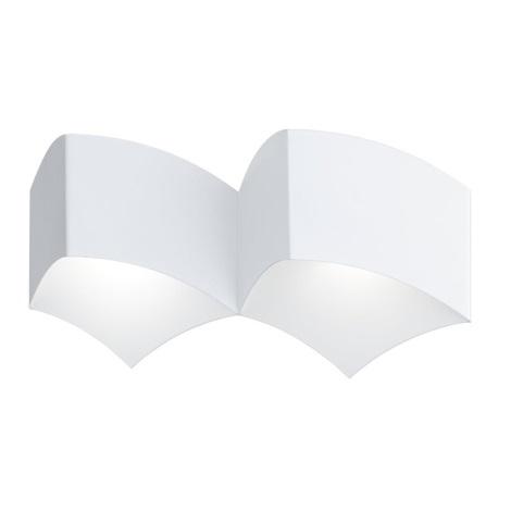 WOFI 4340.02.06.0000 - CARRE fali lámpa 2xG9/33W