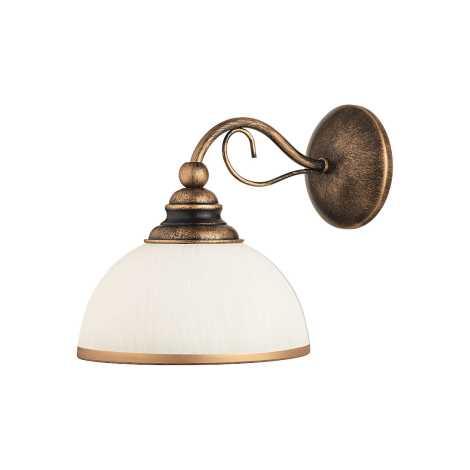 XSARA fali lámpa 1xE27/60W antik barna