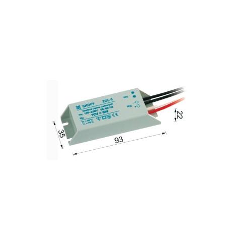 ZOL 6 tápegység a LED-es fali lámpákhoz (Tango, Rueda) 10V/6W